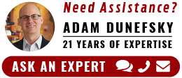 Need Assistance? Ask An Expert - Adam Dunefsky: 21 Years Of Expertise