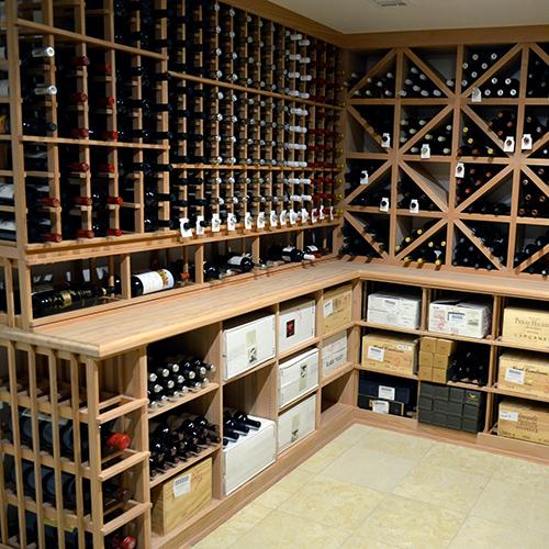Wine Cellar With Tasting Area: Atlantic Beach, NY