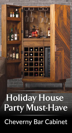 Holiday House Party Must-Have - Cheverny Bar Cabinet