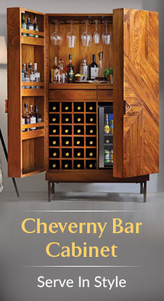 Cheverny Bar Cabinet - Serve In Style