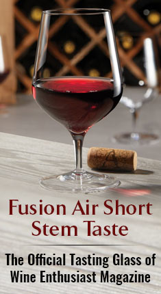 Fusion Air Short Stem Taste - The Official Tasting Glass of Wine Enthusiast Magazine